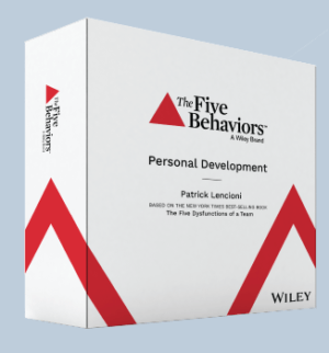 facilitation kit for Five Behaviors Personal Development