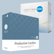 facilitation kit for Everything DiSC Productive Conflict