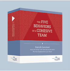 facilitation kit for Five Behaviors powered by All types